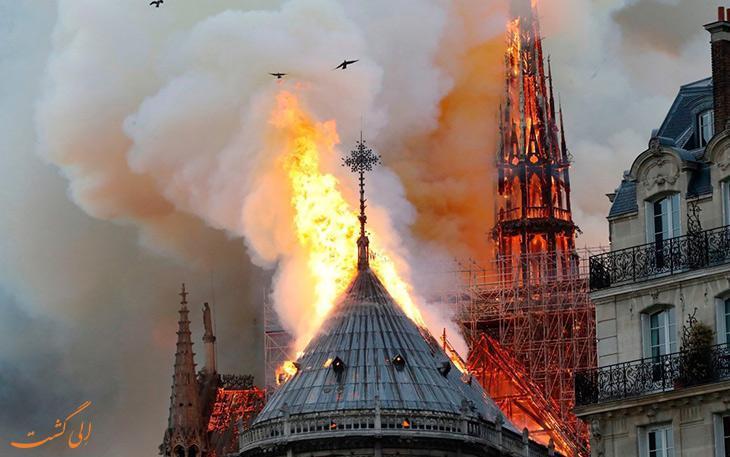 بازسازی کلیسای نوتردام در 5 سال امکان پذیر نیست