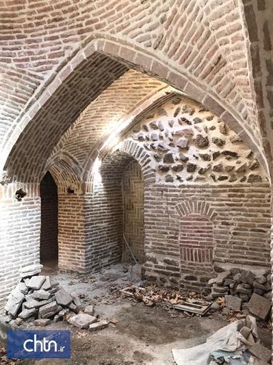 حمام تاریخی لتگاه همدان مرمت می گردد