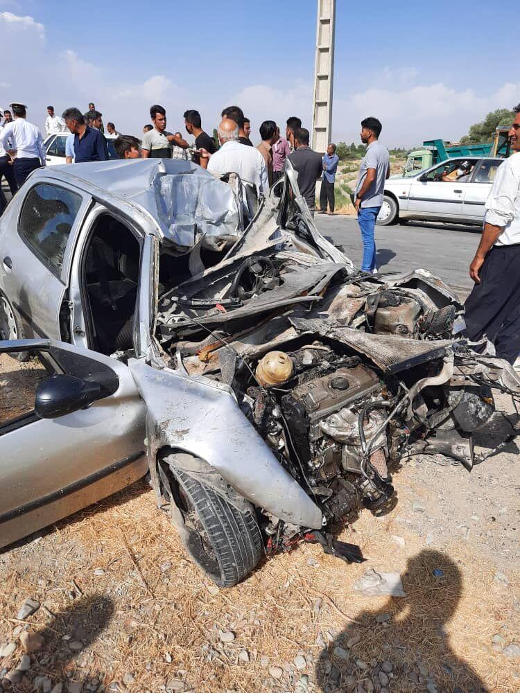 خبرنگاران تصادف منجر به فوت در جاده آران شهرستان ساوجبلاغ