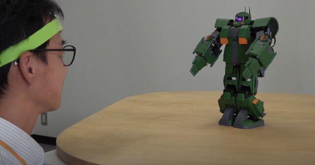 کنترل روبات های انسان نما با ذهن امکانپذیر شد