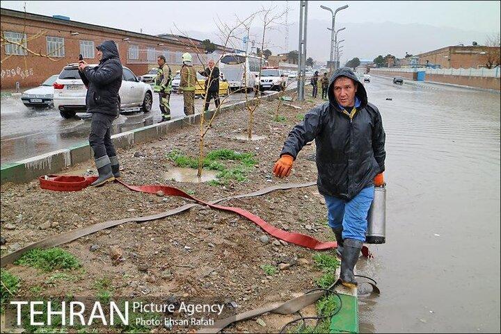 ایمن سازی 10 گلوگاه بحرانی سیلاب در تهران