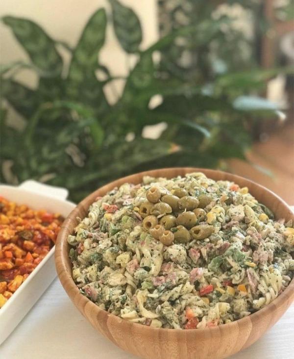 طرز تهیه سالاد ایتالیایی در خانه