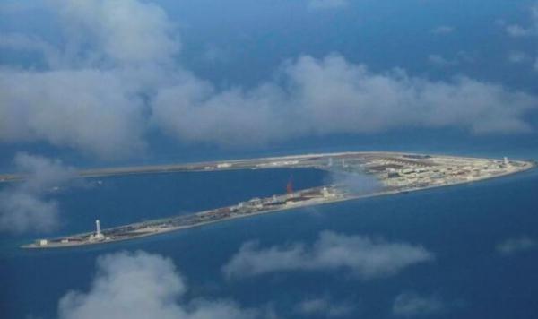 چین در دریای چین جنوبی مانور نظامی برگزار می نماید