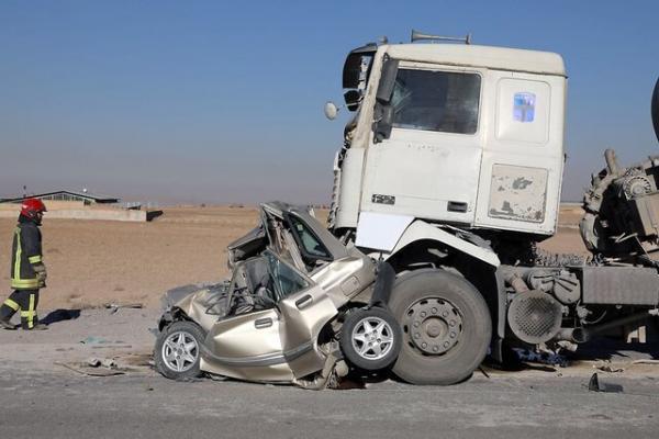 تصادف زنجیره ای در جاده مشهد به فریمان 8 مصدوم برجای گذاشت
