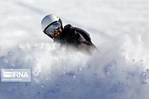 خبرنگاران انتها مسابقات جهانی اسکی با عنوان سی و چهارمی نماینده ایرانی