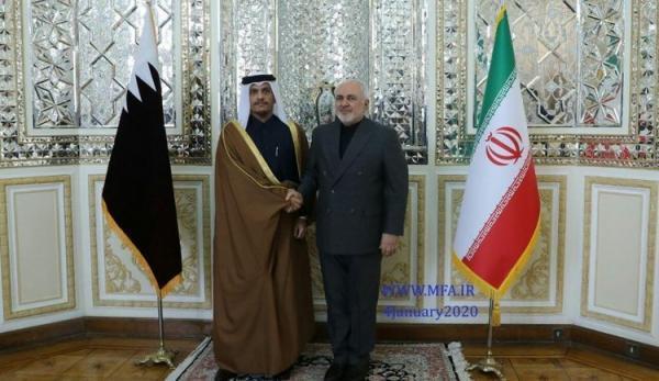 سفر وزیر خارجه قطر به تهران