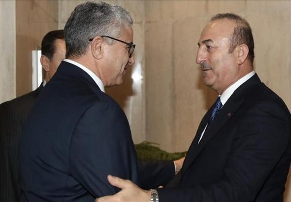 تماس تلفنی وزیر خارجه ترکیه با وزیر کشور لیبی
