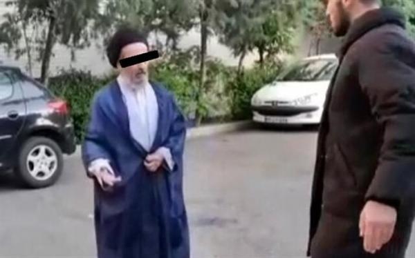ماجرای ویدئوی جنجالی سیلی یک جوان به روحانی