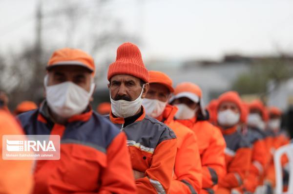 خبرنگاران آماده باش نیروهای خدمات شهری مشهد با توجه به هشدار هواشناسی