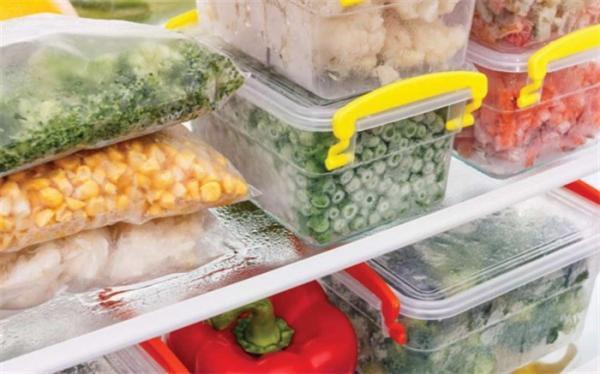 ماندگاری مواد غذایی در فریزر چقدر است؟
