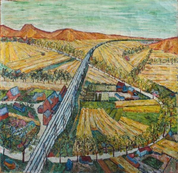 نقاشی ون گوگ پیدا شد