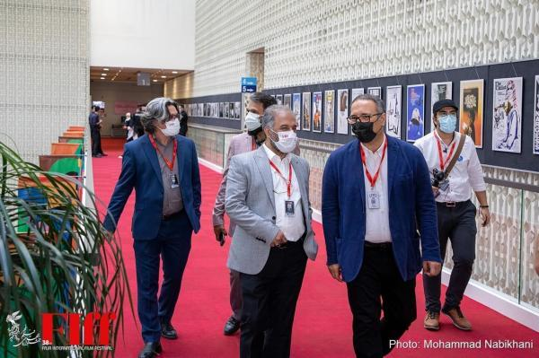 بازدید سیدرضا میرکریمی از کاخ سی وهشتمین جشنواره جهانی فجر