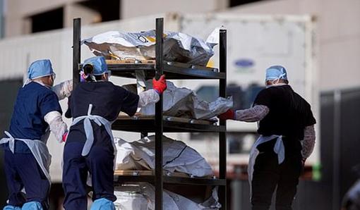 تلفات کرونا در آمریکا به 589 هزار تن رسید