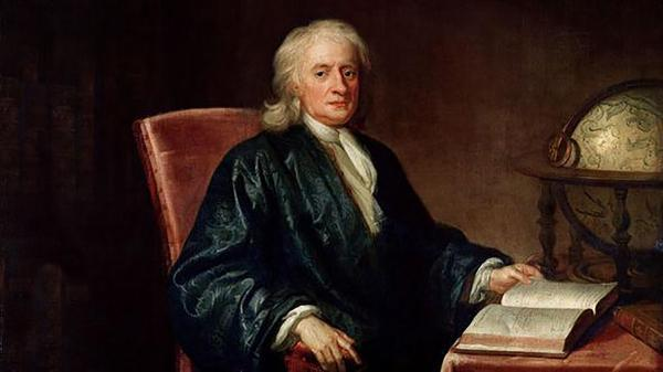 دست نوشته نیوتن بیش از 2 میلیون دلار چوب حراج خورد