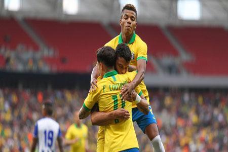 انتخابی جام جهانی ، پیروزی برزیل و توقف آرژانتین