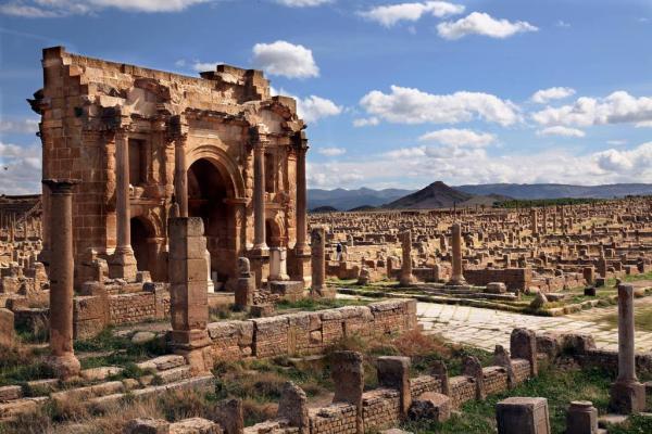 تیمگاد، شهری از روم باستان که در قاره آفریقا کشف شد!