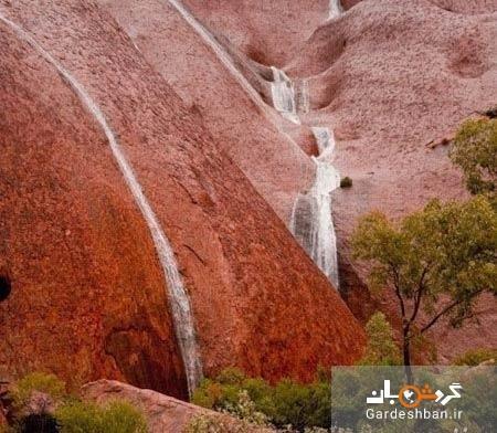 آبشار آیرز راک در استرالیا