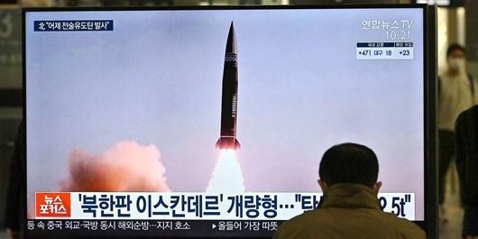 کره شمالی موشک بالستیک تازه آزمایش کرد